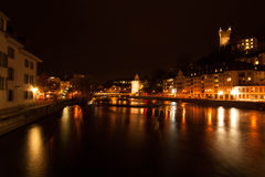 Jeziorna lucerna, Szwajcaria Zdjęcia Royalty Free