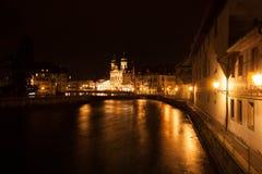 Jeziorna lucerna, Szwajcaria Fotografia Stock