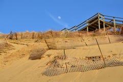 Jeziorna miasteczko plaża w Michigan Obrazy Royalty Free