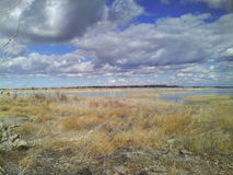 Jeziorna osada w Kolorado Zdjęcie Royalty Free