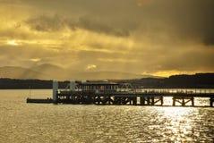 Jeziorna panorama obraz stock