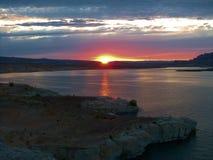 Jeziorna Powell strona fotografia royalty free