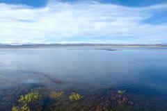 Jeziorna sceneria Obraz Stock