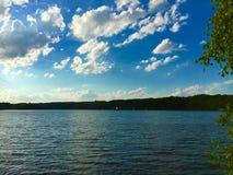 Jeziorna sceneria Obrazy Stock