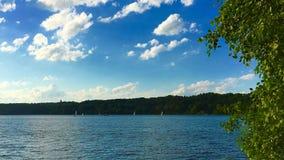 Jeziorna sceneria Zdjęcie Stock
