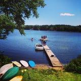 Jeziorna zabawa Zdjęcie Stock