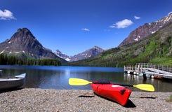 jeziorne medycyny dwa zdjęcia royalty free