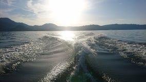 Jeziorne łodzie Zdjęcie Stock