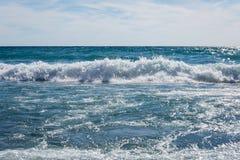 Jeziorne przełożony fala Fotografia Stock