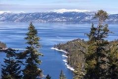 Jeziorne Tahoe góry Zdjęcia Royalty Free