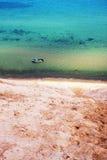 Jeziorne Wyższe piasek diuny Fotografia Royalty Free