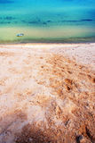 Jeziorne Wyższe piasek diuny Zdjęcia Stock