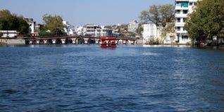 Jeziorni domy Fotografia Stock