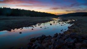 Jeziorni Mary krajobrazy Fotografia Stock