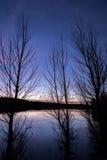 Jeziorni Mary krajobrazy Zdjęcie Stock