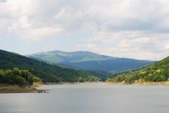 jeziorni montains Zdjęcia Stock