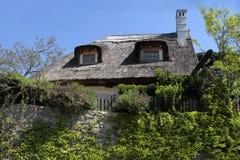 jeziorni rolni balaton domy Obrazy Royalty Free