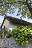 jeziorni rolni balaton domy Zdjęcia Stock