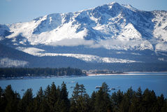 jeziorni sierra tahoe Zdjęcia Royalty Free