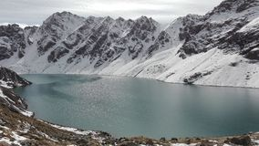 Jeziorni ałuny Kula blisko Karakolu w Kyrgzystan fotografia stock