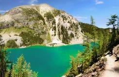 Jeziorny Agnes ślad, Banff park narodowy Obraz Stock