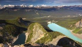 Jeziorny Agnes Louise od diabła kciuka i jezioro Obraz Royalty Free