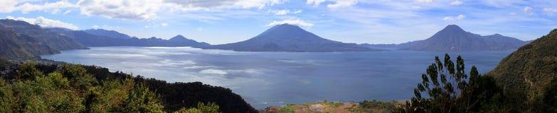 Jeziorny Atitlan w Gwatemala Fotografia Royalty Free