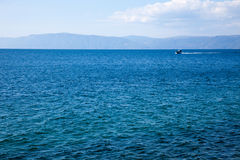 Jeziorny Baikal Syberia Zdjęcia Royalty Free
