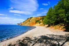 Jeziorny Baikal Syberia Rosja Zdjęcia Stock