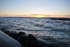 Jeziorny Balaton Fotografia Stock
