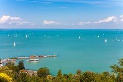 Jeziorny Balaton Fotografia Royalty Free