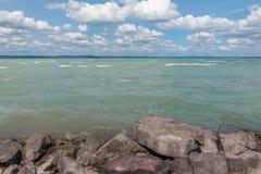 Jeziorny Balaton Obraz Royalty Free