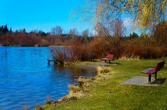 Jeziorny Ballinger, Seattle WA zdjęcia stock