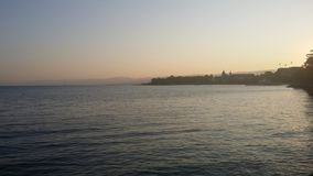 Jeziorny boczny widok Fotografia Royalty Free
