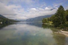Jeziorny Bohinj Fotografia Stock