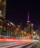 Jeziorny brzeg Toronto zdjęcia royalty free