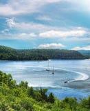 Jeziorny Champlain Fotografia Royalty Free