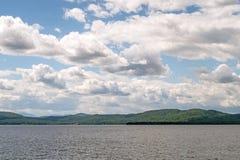 Jeziorny Champlain, Vermont Obraz Royalty Free