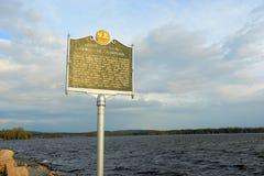 Jeziorny Champlain, Vermont, usa Zdjęcie Stock