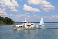 Jeziorny Chiemsee w Niemcy Zdjęcie Royalty Free