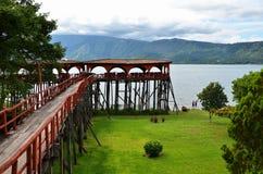 Jeziorny Coatepeque, Salwador Fotografia Royalty Free