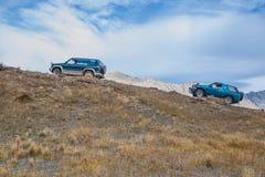 Jeziorny Coleridge Wysoki kraj 4WD Fotografia Stock