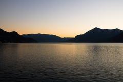 Jeziorny Como Fotografia Stock
