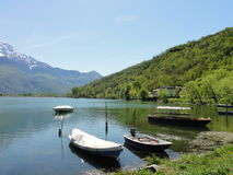 Jeziorny Como Zdjęcie Stock