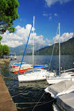 Jeziorny Como Fotografia Royalty Free