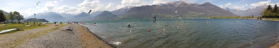 Jeziorny Como Zdjęcia Royalty Free