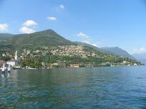 Jeziorny Como & x28; Lago Di Como& X29; w Lombardy, Włochy Zdjęcia Stock