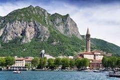 Jeziorny Como, Lecco, Włochy Obrazy Stock