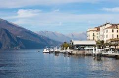 Jeziorny Como, Mediolan Zdjęcia Royalty Free
