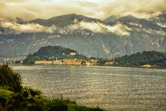 Jeziorny Como San Giovanni Włochy Zdjęcia Stock